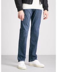 PAIGE - Normandie Slim-fit Straight Jeans - Lyst