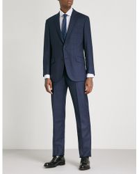 Richard James - Checked Regular-fit Wool Suit - Lyst