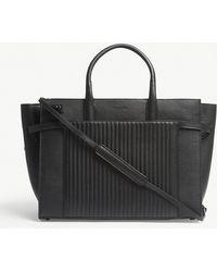 Zadig & Voltaire - Candide Large Leather Handbag - Lyst