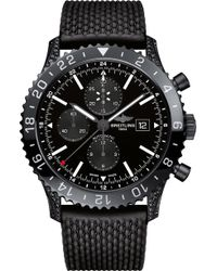Breitling - M24310an/bf02 256s+m20dsa.4 Chronoliner Steel And Ceramic Automatic Chronograph Watch - Lyst
