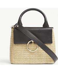Claudie Pierlot - Anouck Small Woven Tote - Lyst