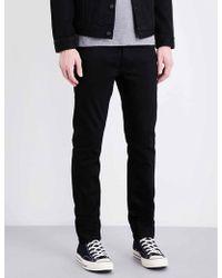 Nudie Jeans - Tilted Regular-fit Straight-leg Jeans - Lyst