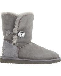 UGG - Bailey Bling Sheepskin Boots - Lyst