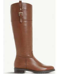 Dune - Vine Leather Riding Boots - Lyst