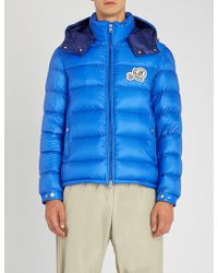 5266dfcd1 Lyst - Moncler Quilted Nylon Jacket in Blue for Men