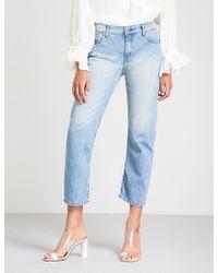 Ba&sh - Romy Mid-rise Boyfriend-fit Jeans - Lyst