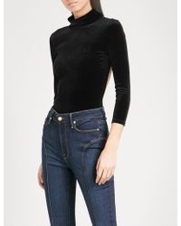 GOOD AMERICAN - Backless Velvet Body - Lyst