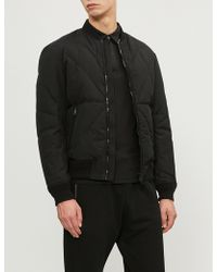 Emporio Armani - Quilted Down-filled Jacket - Lyst