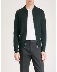 John Smedley - Maclean Wool Jacket - Lyst