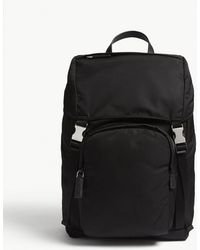 Prada - Nylon Technical Backpack - Lyst