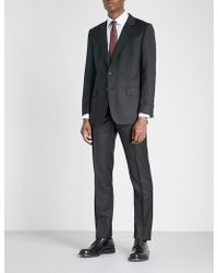 Gieves & Hawkes - Regular-fit Wool Suit - Lyst