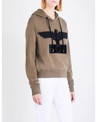 BOY London - Bristle Logo Cotton-jersey Hoody - Lyst