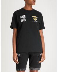 Aape - Logo-print Cotton-jersey T-shirt - Lyst