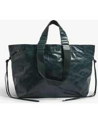 Isabel Marant - Wardy Crinkled Leather Shopper - Lyst