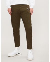 DSquared² - Regular-fit Skinny Cotton-twill Trousers - Lyst