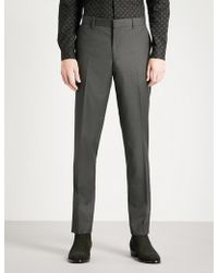 The Kooples - Tapered Fitted Wool Trousers - Lyst