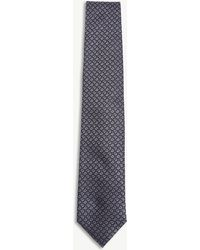 Corneliani - Pin-dot Silk Tie - Lyst