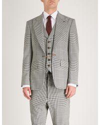 Vivienne Westwood - Houndstooth Regular-fit Wool Jacket - Lyst