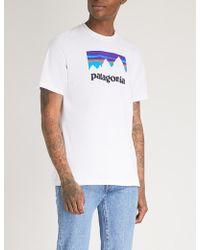 Patagonia - Responsibili-tee Logo-print Recycled Cotton-blend T-shirt - Lyst