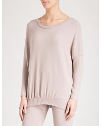 Eberjey - Cosy Time Knitted Top - Lyst