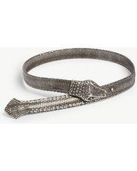 The Kooples - Metal Snake Belt - Lyst