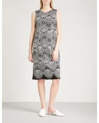 Prabal Gurung - Silk-embroidered Sleeveless Woven Dress - Lyst