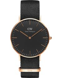 Daniel Wellington - Classic Cornwall Rose Gold Watch - Lyst