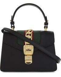 Gucci - Sylvie Leather Cross-body Bag - Lyst
