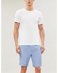 Frescobol Carioca - Sport Linen-cotton Blend Shorts - Lyst