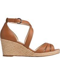 f1c10e61f0df4 L.K.Bennett - Priya Espadrille Wedge Sandals - Lyst