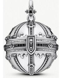 Thomas Sabo - Rebel Kingdom Of Dreams Orb Sterling Silver Pendant - Lyst