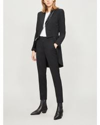 The Kooples - Stretch Wool Tailcoat - Lyst
