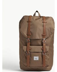 Herschel Supply Co. - Little America Canvas Backpack - Lyst