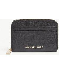 MICHAEL Michael Kors | Money Pieces Grained Leather Wallet | Lyst