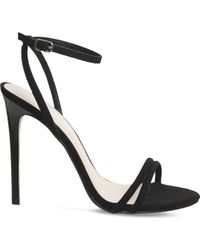 Office - Hibiscus Suede Sandals - Lyst