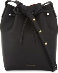 Mansur Gavriel - Mini Leather Bucket Bag - Lyst