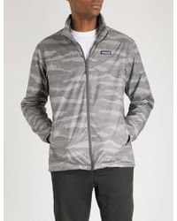 Patagonia - Light & Variable Camouflage-print Shell Jacket - Lyst