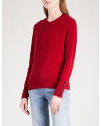 Burberry - Carapelle Cashmere Jumper - Lyst