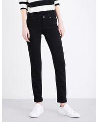 PAIGE - Skyline Skinny Mid-rise Jeans - Lyst