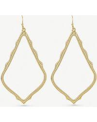 Kendra Scott - Sophee Gold-plated Earrings - Lyst