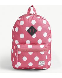 Herschel Supply Co. - Heritage Youth Polka-dot Canvas Backpack - Lyst