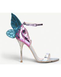 Sophia Webster - Chiara Winged Leather Sandals - Lyst