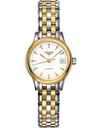 Longines - L4.274.3.22.7 Heritage Watch - Lyst