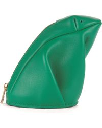 Loewe Frog Leather Coin Purse