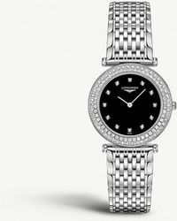Longines - L4.308.0.57.6 La Grande Classique Stainless Steel And Diamond Watch - Lyst