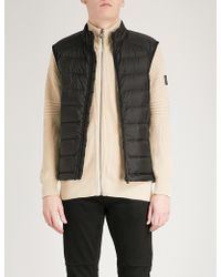 Belstaff - Rodings Quilted Shell-down Gilet - Lyst