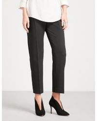 Finery London | Oliver High-rise Tapered Crepe Trousers | Lyst
