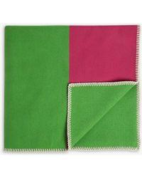 CALVIN KLEIN 205W39NYC - Striped Wool-blend Scarf - Lyst