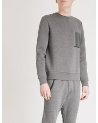 The Kooples - Pocket-detail Jersey Sweatshirt - Lyst