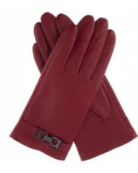 Dents | Hardware-detail Leather Gloves | Lyst